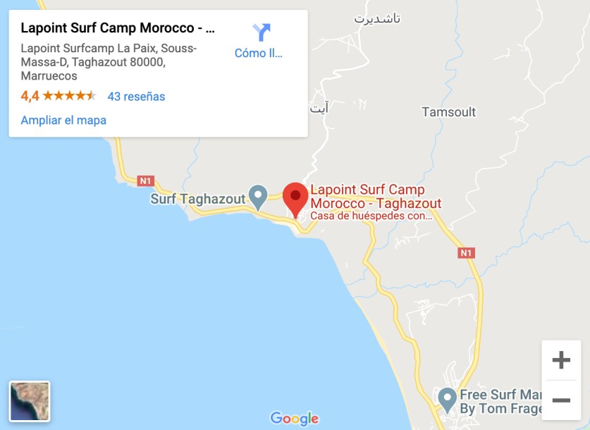 Lapoint Surf Camp Morocco Taghazout