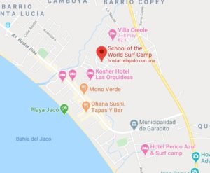 Playa Jaco surf camp