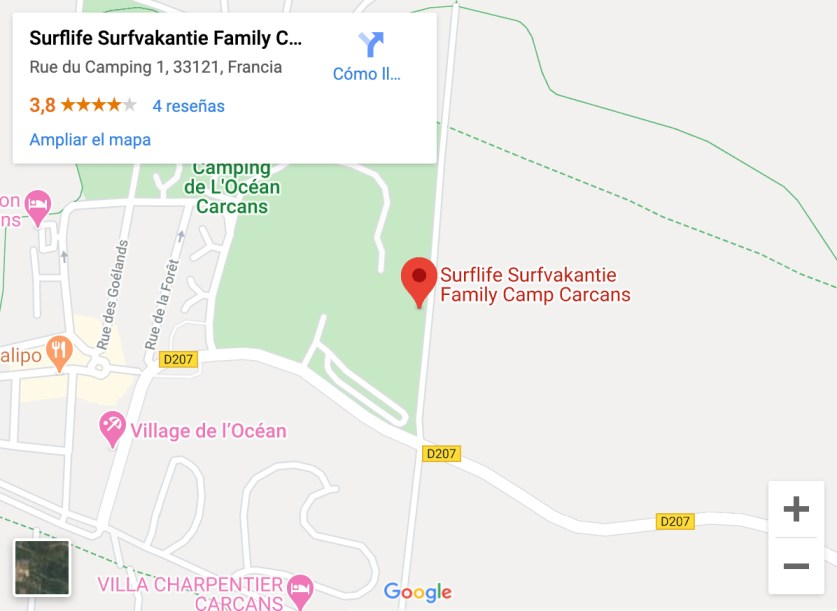 Surflife Surfvakantie Family Camp Carcans