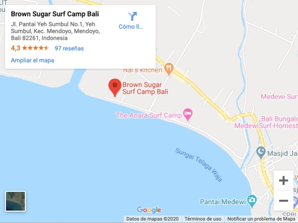mejores surf camps bali - brown sugar surf camp